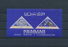 LL98054 Sharjah telecommunications good sheet MNH