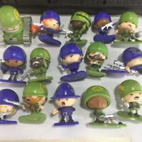 "random 5Pcs MGA Little Green Men Battle Soldier Series 1 Figure 2"" toy gift"