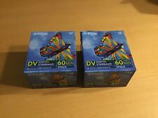 TDK Mini DV Tapes - DVM60 - 2x5 pcs. - New unopened