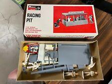 Vintage 1966 Monogram 1/32 Racing Pit in original box