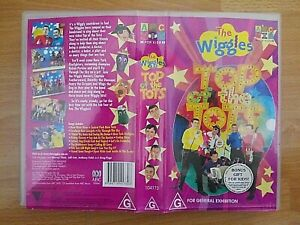 The Wiggles - Top Of The Tots VHS Video - 2004