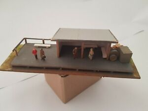 HO Scale Scratch-build Railway Shed
