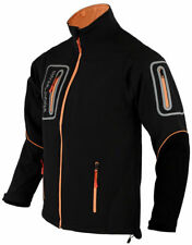 Men's Soft shell Lightweight Waterproof windproof  Casual Jacket Zip Pockets
