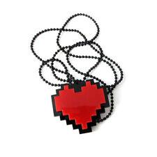 Game Undertale Papyrus Sans Frisk Bravery Love Heart Cosplay Necklace Pendant