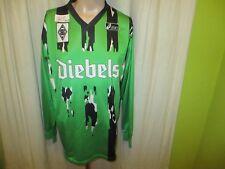"Borussia Mönchengladbach asics Langarm Auswärts Trikot 94/95 ""diebels"" Gr.XL TOP"