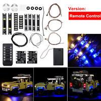 RC LED Light Lighting Kit ONLY For LEGO 42110 Land Rover Defender Car Bricks Set