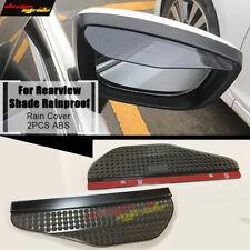 Rear View Side Mirror Rain Boards Flexible Sun Visor Shade Shield universal fit