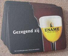 Gezegend Zij Ename Belgian Beer Coasters NEW Lot of 10 Belgium Mat Bar Pub