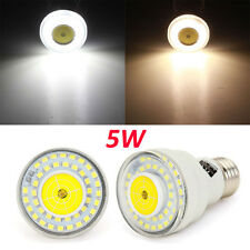 E27 5W White/Warm White Microwave Radar Body Sensor LED Spot Light Bulb 220V