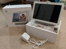 Google Nest Hub Max - White/Chalk - Fast Dispatch - pre-owned - great condition