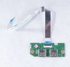 *NEW* Dell Inspiron N5040 / N5050 USB IO Circuit Board W/ Ribbon Cable - 08C9P