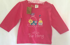 Baby Charlie & Me Girls  Pink  Long Sleeve Printed Tee 6-12months
