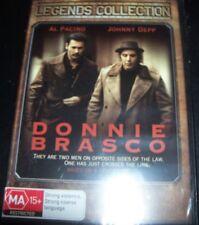 Donnie Brasco (Al Pacino Johnny Depp)(Australia Region 4) DVD – New