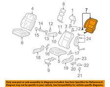 Honda Genuine 81528-SXS-A11ZB Seat Back Cover