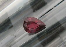 .86 CT. NATURAL  RUBY PEAR SHAPE