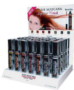 Henna Hair Mascara Henne Natural - Black-Brown-Auburn-Copper-Blond-Mahogany
