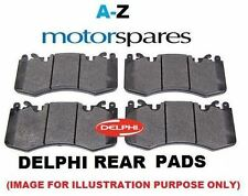 FOR RENAULT LAGUNA 2.0 DCI Diesel 10/2007>ON NEW REAR DELPHI BRAKE DISC PADS SET