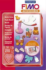 Fimo Sculpey Arcilla Push Moldes Baby Para Modelos Joyería Artesanal Arte Divertido 05