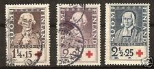 FINLAND # B-18-20 Used/MNH Famous People