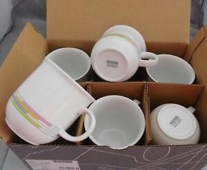 Thomas TREND CANDY 6 Kaffeebecher groß 0,36 L. Neuware & Ovp Becher