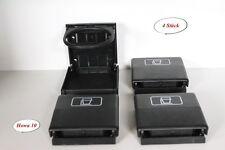 4x Getränkehalter/Becherhalter / Dosenhalter VW Bulli T3 T4 T5 Multivan Schwarz