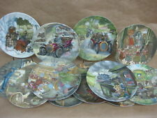 Set 12 Wedgwood Wind In The Willows Plates ~ Eric Kincaid ~ English China