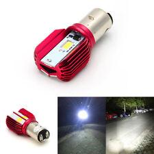 1x LED Motorrad Scheinwerfer Lampe COB 16W Sehr hell Hallo / Lo Strahl Fahrlicht