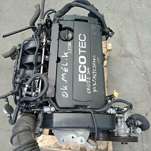 HOLDEN CRUZE ENGINE PETROL, 1.8, F18D4, 8TH VIN = 5, JG-JH, 03/09-02/13 09 10 11