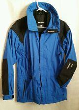 Helly Hansen Equipe Mens Sz XS Zippered Rain Light Longer Jacket Coat Blue