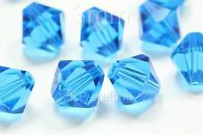 25 Austria bicone crystal beads 10mm for Swarovski #5301/5328-U pick color #AB11