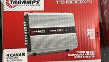 Taramps TS800X4 4 Chanel 800 Watt Class D Car Amplifier Brand New Wow !