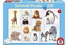 Wild Animal Babies: Schmidt childrens Jigsaw Puzzle: 200 piece puzzle age 8 plus