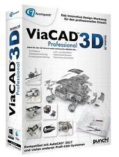 PUNCH! ViaCAD 3D Version 10 Professional WIN / MAC CD/DVD Pro EAN 4023126118912