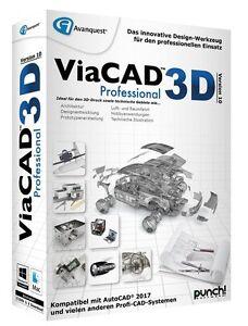 ViaCAD 3D Version 10 Professional für MAC CD/DVD Pro EAN 4023126118912 v. PUNCH!