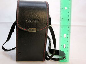 """Sigma NC-50 Lens Case 6"""" tall x 3""""w for 70-210mm 80-200mm lenses S2102007"""