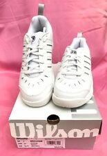 NEW Wilson Challenge Women's Tennis Shoes White/Silver SIZE 6D