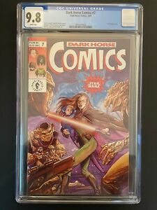 Dark Horse Comics #7 1993 CGC 9.8 Star Wars Story Dark Horse Comic Book GR1-33