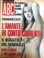 RIVISTA ABC N.35 1968