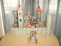 Playmobil lot chateau fort médieval 3666