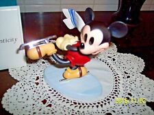 """WDCC - MICKEY MOUSE ON ICE FIGURINE– """" WATCH ME!!!! """""""