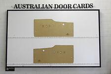 Ford Falcon XL, XK Door Cards Blank Trim Panels. Sedan Wagon Ute Van Front Doors