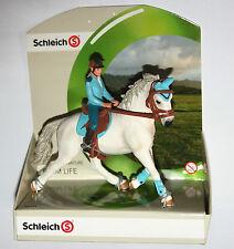 Schleich Farm - TOURNAMENT RIDER Figure & Horse SET - 42111 *New*