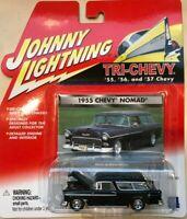Johnny Lightning Tri-Chevy - 1955 Chevy Nomad