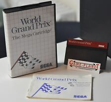 World Grand Prix SEGA Master OVP Sammlung 4974365632809