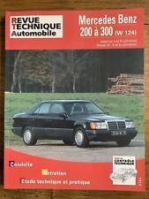 Revue Technique MERCEDES BENZ 200 à 300 (série W124) Essence et Diesel RTA