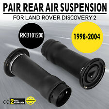 1 Pair For LAND ROVER DISCOVERY 2 New Rear Air Suspension Spring Bag - RKB101200