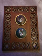 Decorative Wall Plaque with male and female pictures