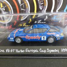 Voiture 1/43 eligor RENAULT Alpine : V6 GT Turbo  Europa Cup Speedy 1985