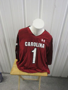 UNDER ARMOUR SOUTH CAROLINA GAMECOCKS 3XL #1 FOOTBALL JERSEY NEW W/ TAGS