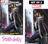 AMAZING SPIDER-MAN #47 - TRADE DRESS & VIRGIN EXCLUSIVE SET - JEEHYUNG LEE